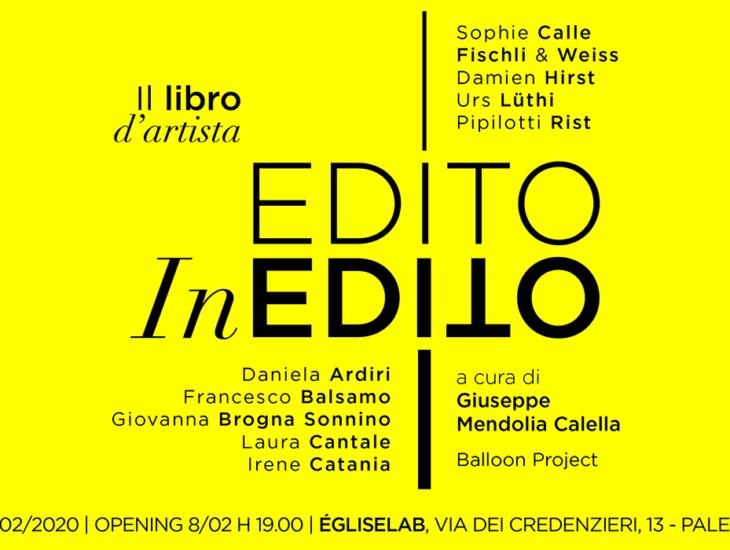 Il libro d'artista. Edito/inedito a cura di Giuseppe Mendolia Calella